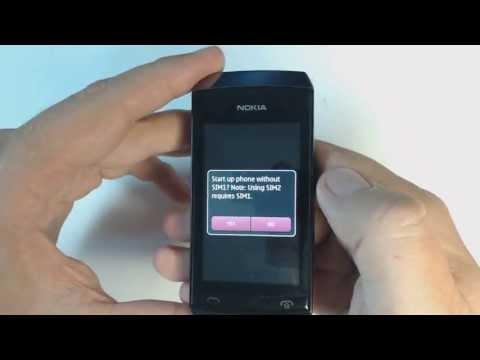 Nokia Asha 305 factory reset