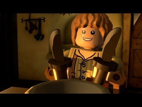 Lego The Hobbit - Dinner With Dwarfs  - Part 3
