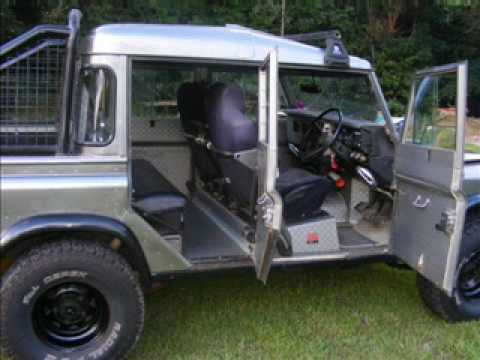 Land Rover 1981 Custom Rebuild Youtube