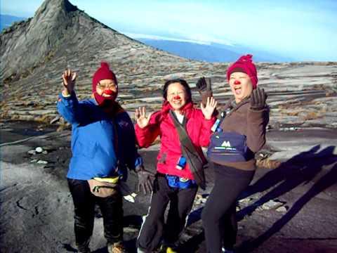 Laughter Yoga at Mt Kinabalu, Sabah, Malaysia