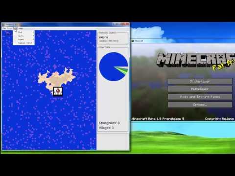 [Tutorial] AMIDST - Minecraft Stronghold/Biome/Village Finder