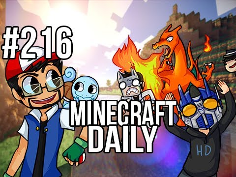 Minecraft Daily | Ep.216 | Ft. Kevin, ImmortalHd and Steven | New Updated Mods!