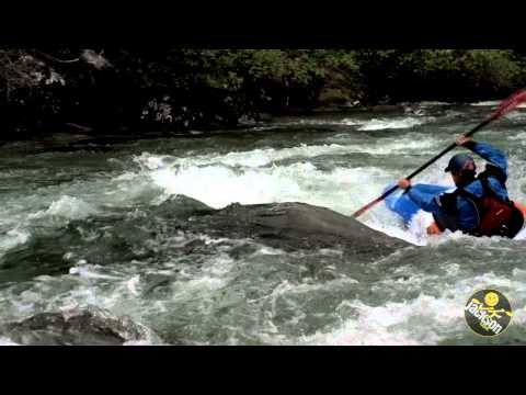 James McBeath and the Jackson Kayak Zen train for the Colorado