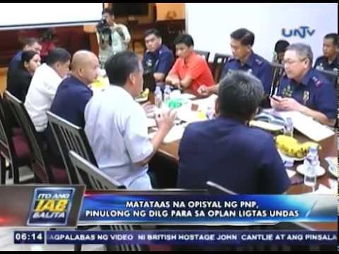 Matataas na opisyal ng PNP, pinulong ng DILG para sa Oplan Ligtas Undas