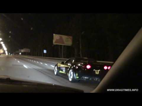 Chevrolet Corvette ZR1 vs Nissan GT-R Switzer R800 (Revanche)
