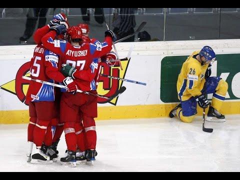 Россия-Швеция 4-1, 2016, обзор, лучшие моменты, голы / Russia-Sweden 4:1, 2016, 17.05.2016