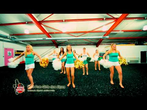 Pom Pom Girls Des Alpes Flash Mob brésil video