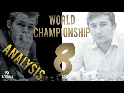 Carlsen - Karjakin Game 8 World Chess Championship 2016 | Grandmaster Analysis