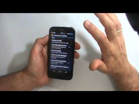 Acessibilidade Android - Review acessibilidade Motorola Moto G com android 4.3