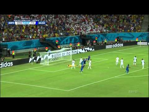 World Cup 2014 - Italy vs England / Full Match
