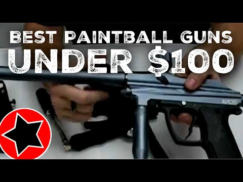 Best Paintball Gun Under 100 Dollars With Reviews