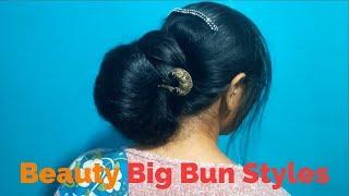 Beauty Big Bun Styles
