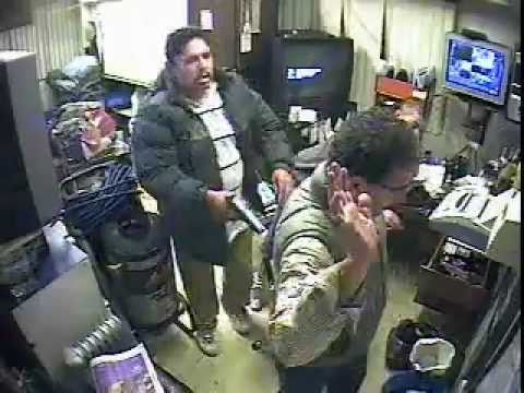 Robbery Suspects Caught on Surveillance Camera