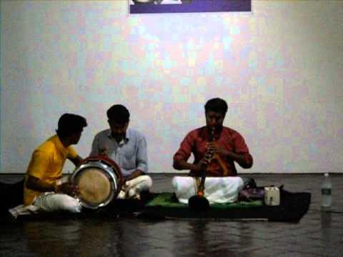 Nadaswaram Kacheri - BC Gallery, Mattancherry, Kerala, India 2/12/2016 Pt 1