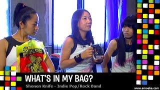 Shonen Knife - What's In My Bag?