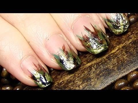 Army Nail Art Army Girl Nails  I was