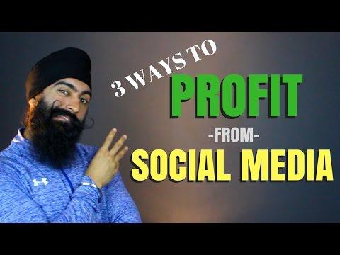 How To Make Money On Social Media | Using Social Media For Business & Make Money On Instagram