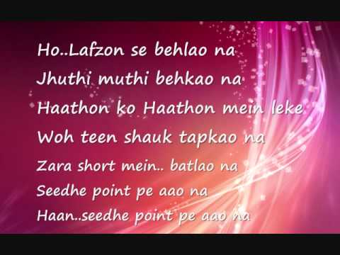 Acha lagta hai - Aarakshan full song with lyrics