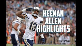 Keenan Allen NFL Highlights (2017) || 'Narcos' - Migos || Comeback Player of The Year