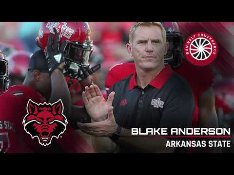 Arkansas State Head Coach  Blake Anderson: 9/17 Media Teleconference