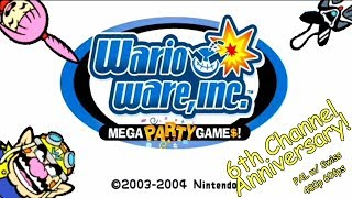 6 Year Anniversary - WarioWare Mega Party Games Multiplayer (GCN)