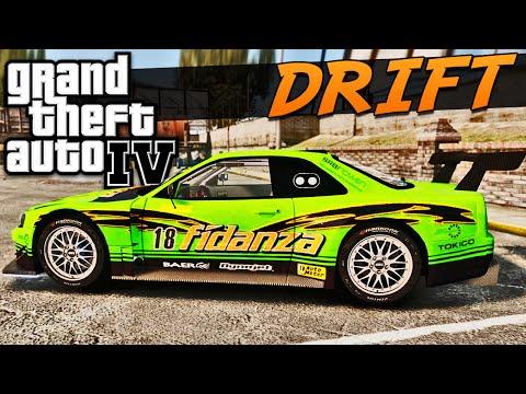 Carro Tunado De Drift No Gta Iv video