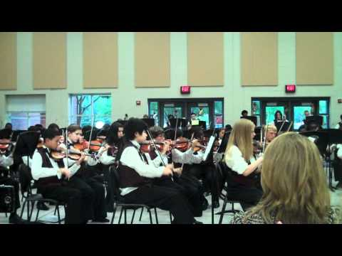 Alton C. Crews Middle School - 8th Grade Orchestra - Conquistador