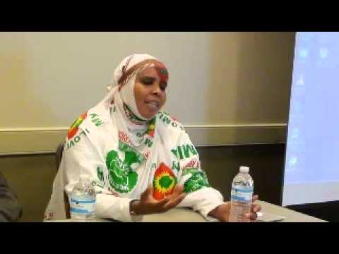 Seife Nebelbal Radio Interviews Oromo Heroine Urjii Dhaabaa & Oromo refugee in Saudi