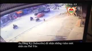 Video tại nạn giao thông tại ngã 3 - Nam Tiến - TX Phổ Yên- Thái Nguyên