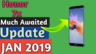 Honor 7x update Jan 2019 | Much Awaited Feature By OTA System update in Honor 7x | Hindi Urdu |