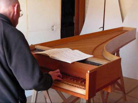 Cembalo ispirato a un Anonimo italiano del '700