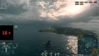 Главное оружие эсминца - торпеды?