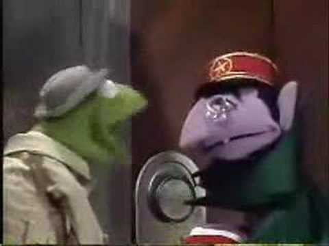 Sesame Street - The Count gets a job as Elevator operator