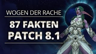 Battlefacts - 87 Fakten zu Patch 8.1 | World of Warcraft