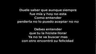 Yelsid Ft Andy Rivera - Duele Saber (Letra) ✓