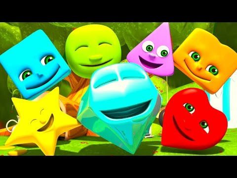 Shapes | Numbers | Colors | ABC Alphabet & Nursery Rhymes Songs by Little Treehouse S03E57