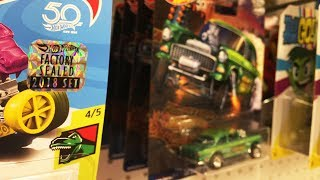Off The Pegs: Shame! Scumbags Buying Hot Wheels Master Sets And Returning The Less Desirable Cars