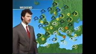 BBC Weather 21st May 1993 John Kettley