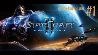 GamePlay Starcraft 2 Wings Of Liberty - Día de Liberación - Español