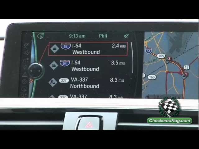 How To Use Navigation System in BMW 3 Series with BMW ...