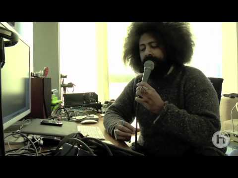 VoiceLive Touch - Reggie Watts in the studio with vocal FX & VLOOP