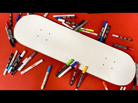 Design Your Own Skateboard! /  ReVive Skateboards Winner's Announced.