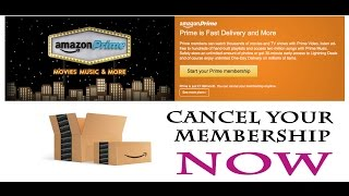 How To Cancel Amazon Prime Membership | Solution
