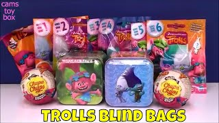 Dreamworks Trolls Blind Bags Series 1 2 3 4 5 6 Surprise Toys Tins Chupa Chups Opening