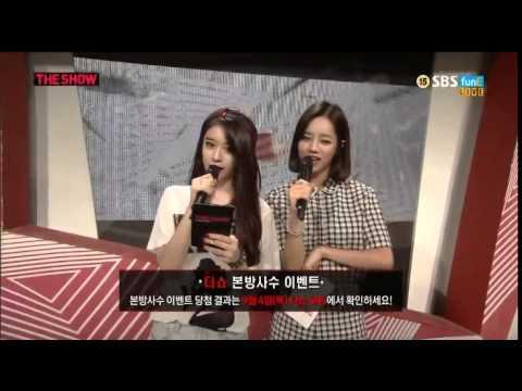 140902 The Show T-ARA MC Jiyeon cut #4