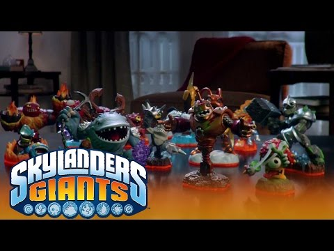 Up Down TV Trailer: Official Skylanders Giants