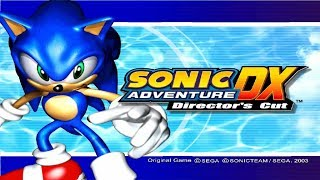 Sonic Adventure DX (1080p/60fps) Sonic`s Story part 1