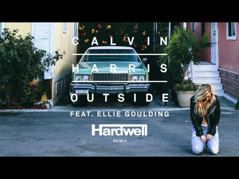 Calvin Harris ft. Ellie Goulding - Outside (Hardwell Remix)