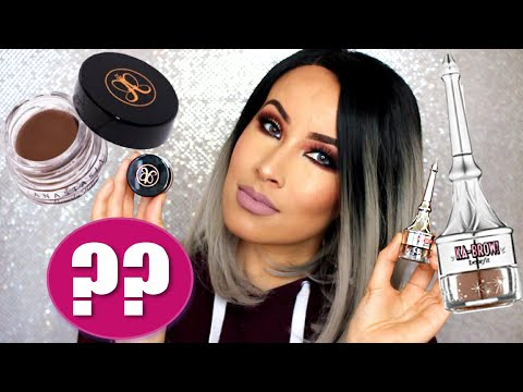 BENEFIT KABROW FIRST IMPRESSIONS + ANASTASIA BEVERLY HILLS DIPBROW COMPARISON