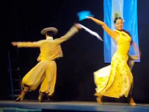 Pre Baradero 2011-rubro:pareja de zamba estilizada Mansilla Melina/Rodriguez Walter